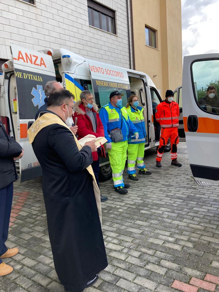 Nuova ambulanza per il 118 di Airola