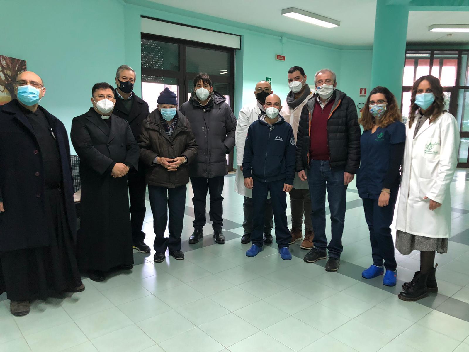 Airola, Villa San Giorgio: vaccinati 41 anziani