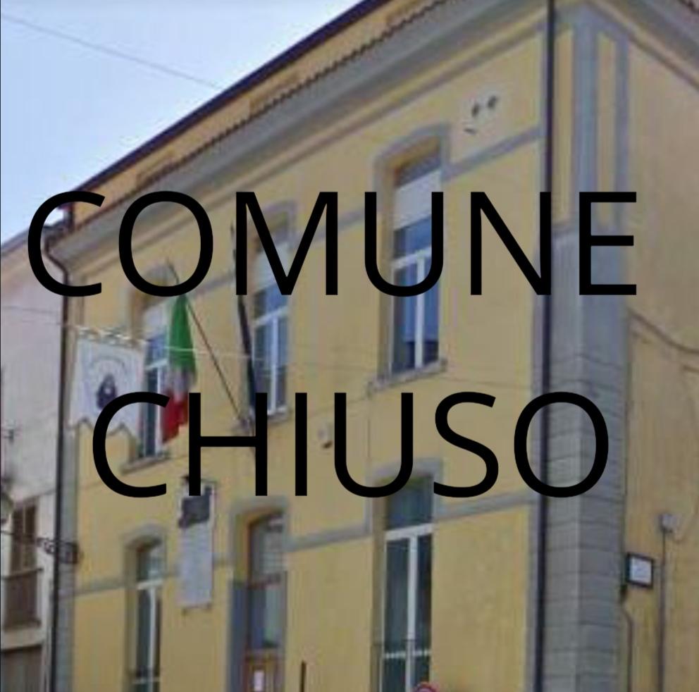 Covid, Municipio chiuso a Forchia