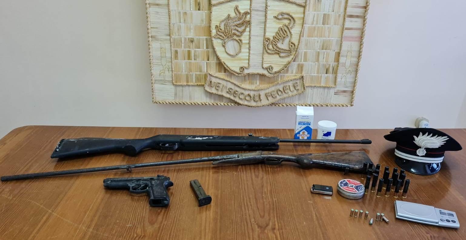 Montesarchio, armi: arrestato 37enne