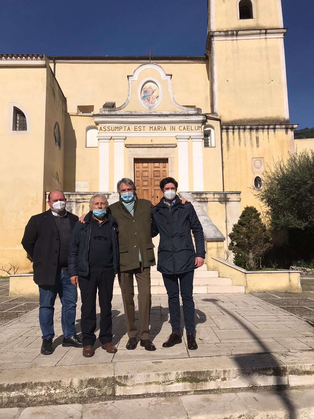 Durazzano, questa mattina la visita dell'assessore regionale Casucci