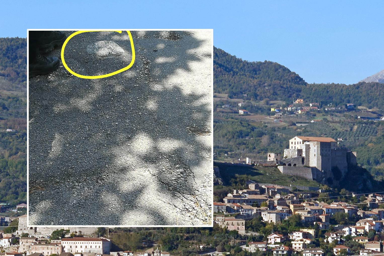 Montesarchio. Anziana inciampa su un rialzo di cemento in centro.