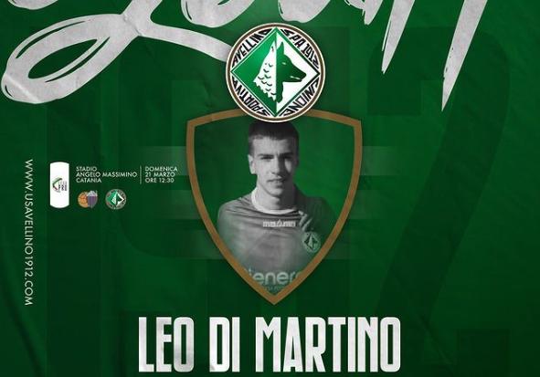 Calcio. Indro Criscuoli: felice per Di Martino convocato dall'Avellino.