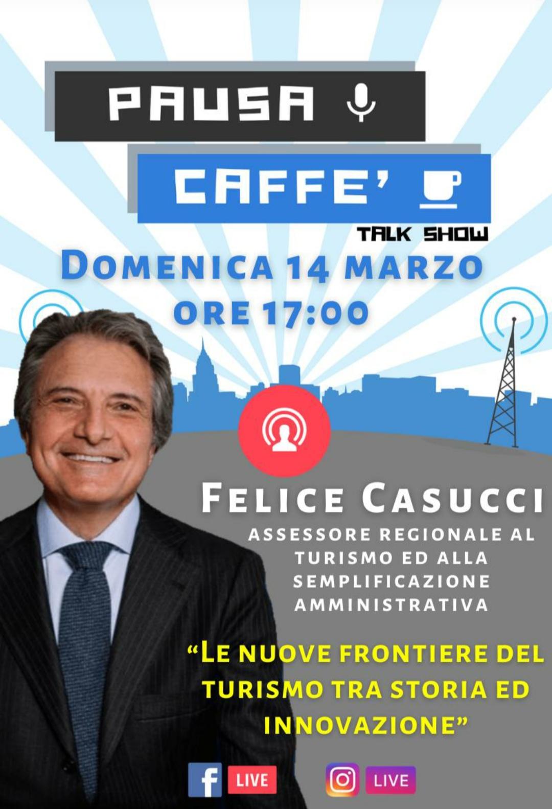 Pausa caffè, c'è l'assessore Casucci
