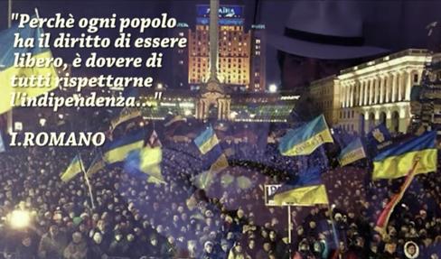 San Martino. Walk Together: omaggio all'indipendenza dell'Ucraina