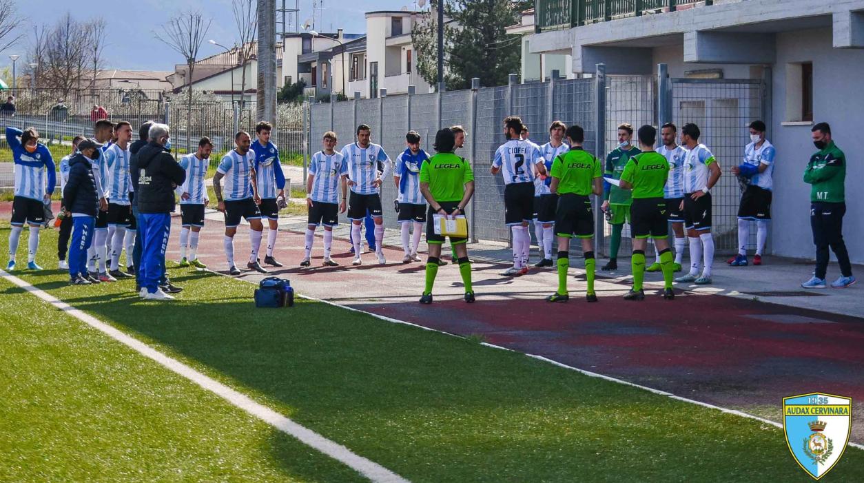 L'Audax Cervinara vince e convince… ma il nuovo stadio?