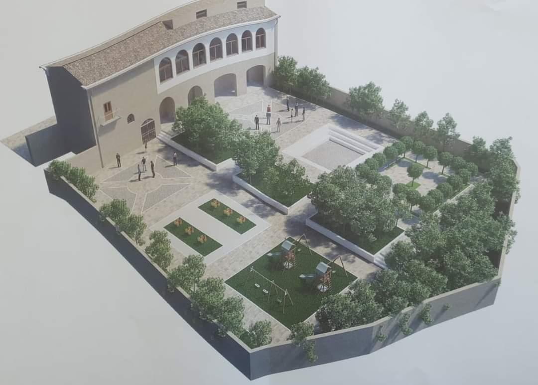 Bonea, Palazzo D'Apice: ecco come diventerà