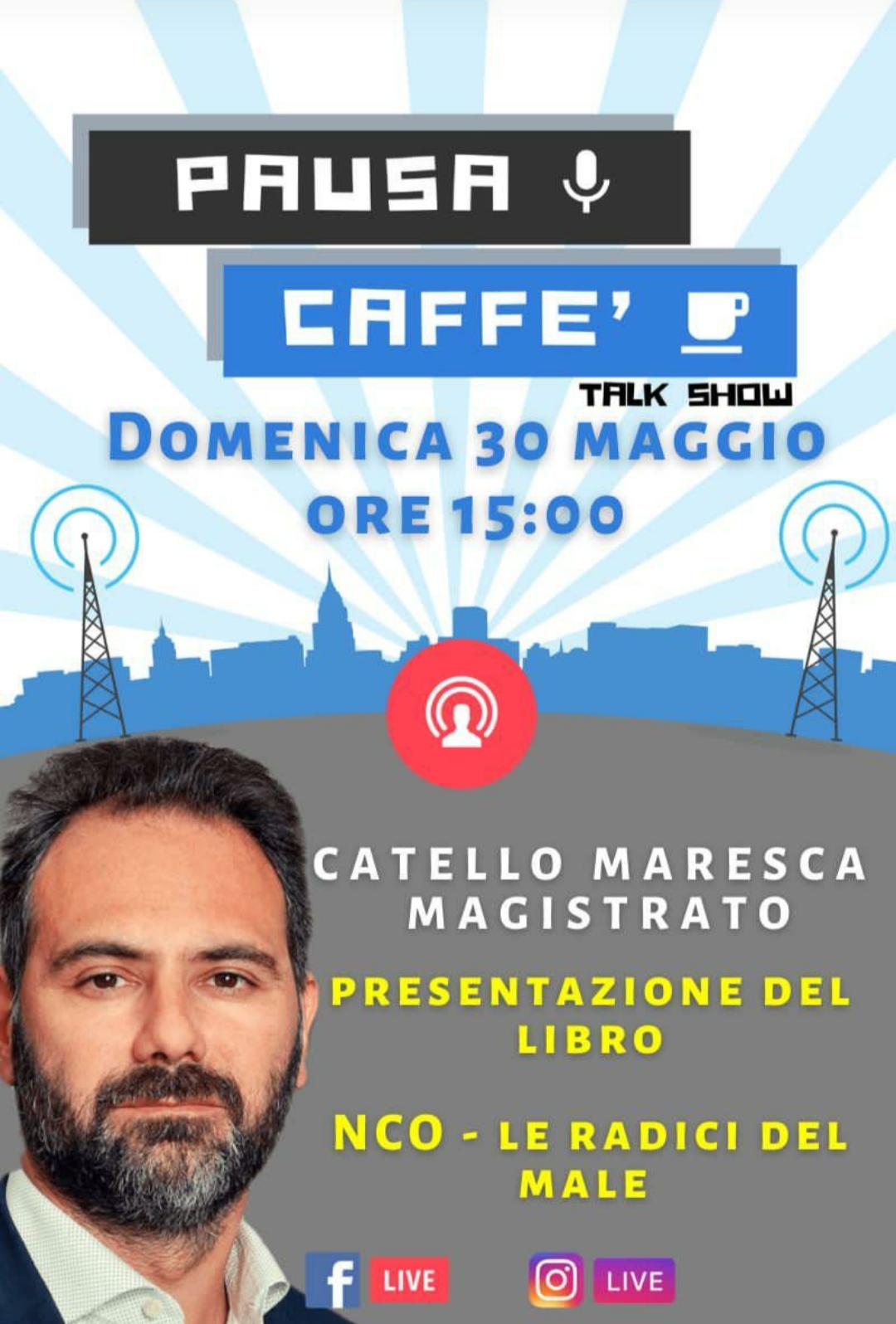Sant'Agata, Pausa Caffè: riecco Catello Maresca