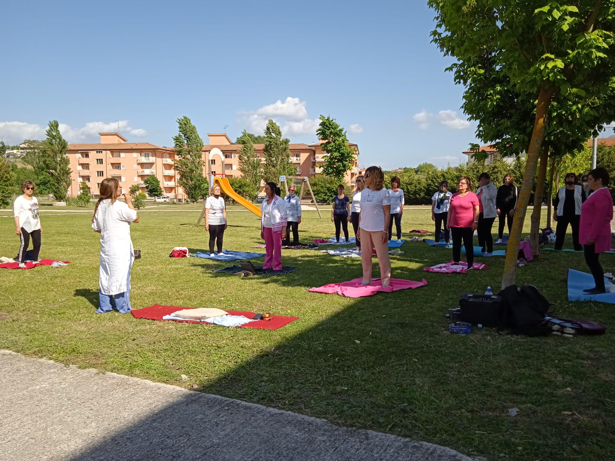 Montesarchio. Un corso gratuito di Yoga over 60