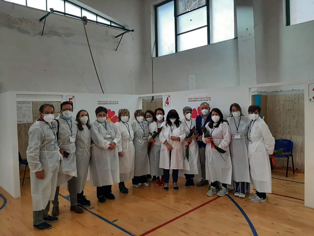 Vaccinazioni, hub Montersarchio: plauso di Damiano