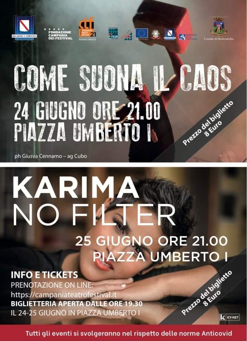 """Montesarchio, seconda uscita del """"Campania Teatro Festival"""""""