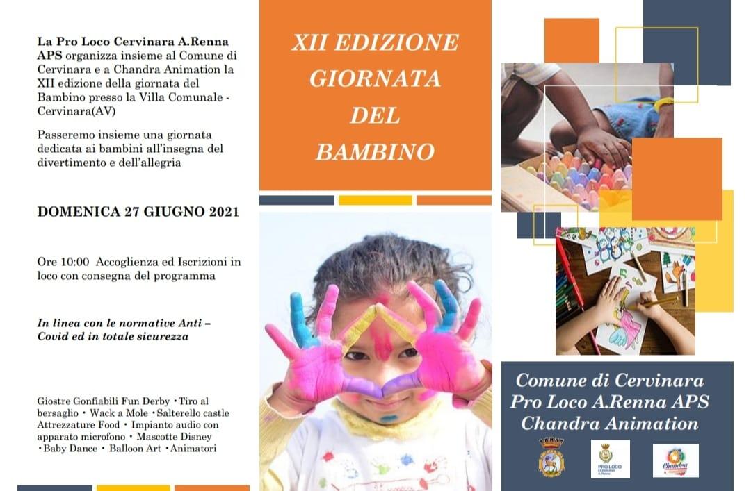 Proloco Cervinara: ritorna la Giornata del Bambino