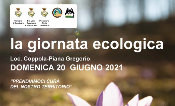 Cervinara. Domenica 20 Giugno in programma la Giornata Ecologica.
