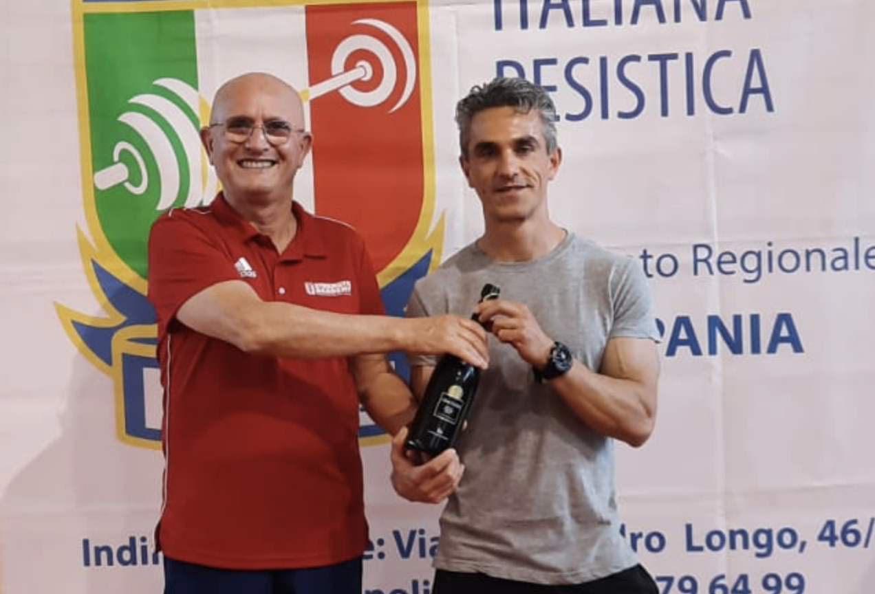 Cervinara. ASD Natural: Pasqualino Ricci sempre al top.