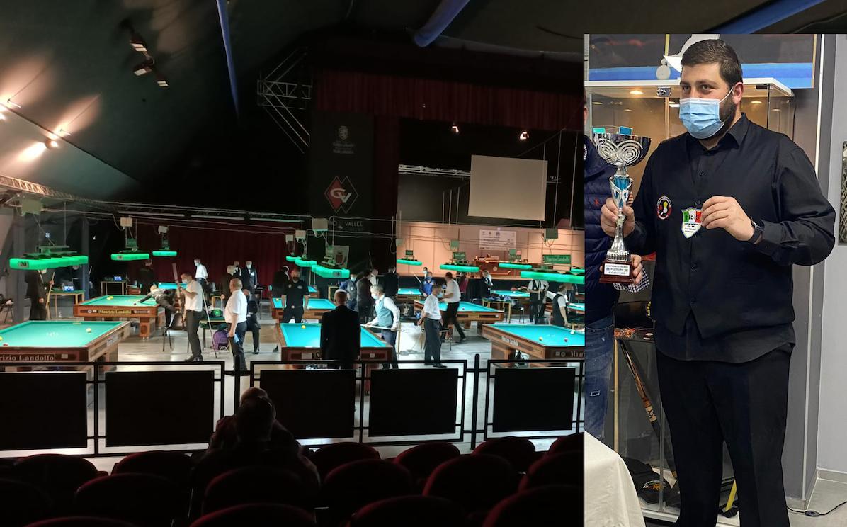 Un cervinarese a Saint-Vincent al Campionato Italiano Biliardo