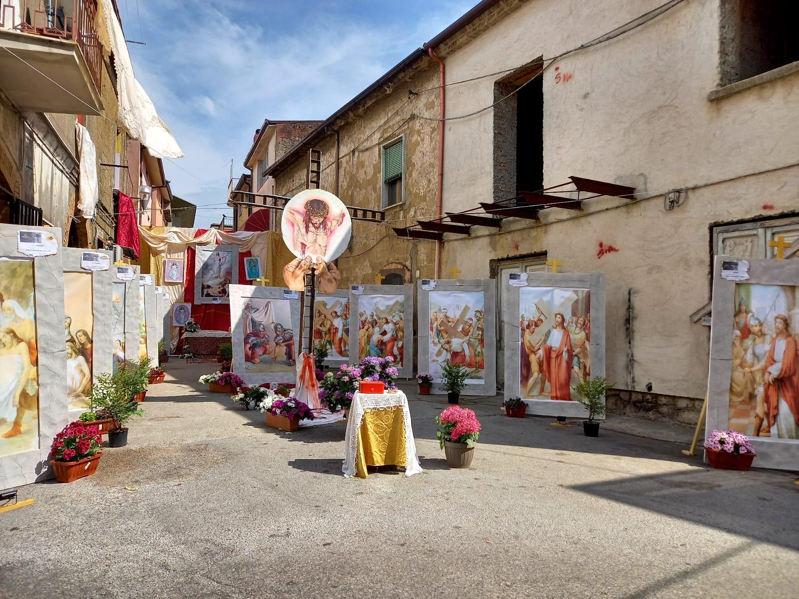 Montesarchio. Gli Altari per il Corpus Domini