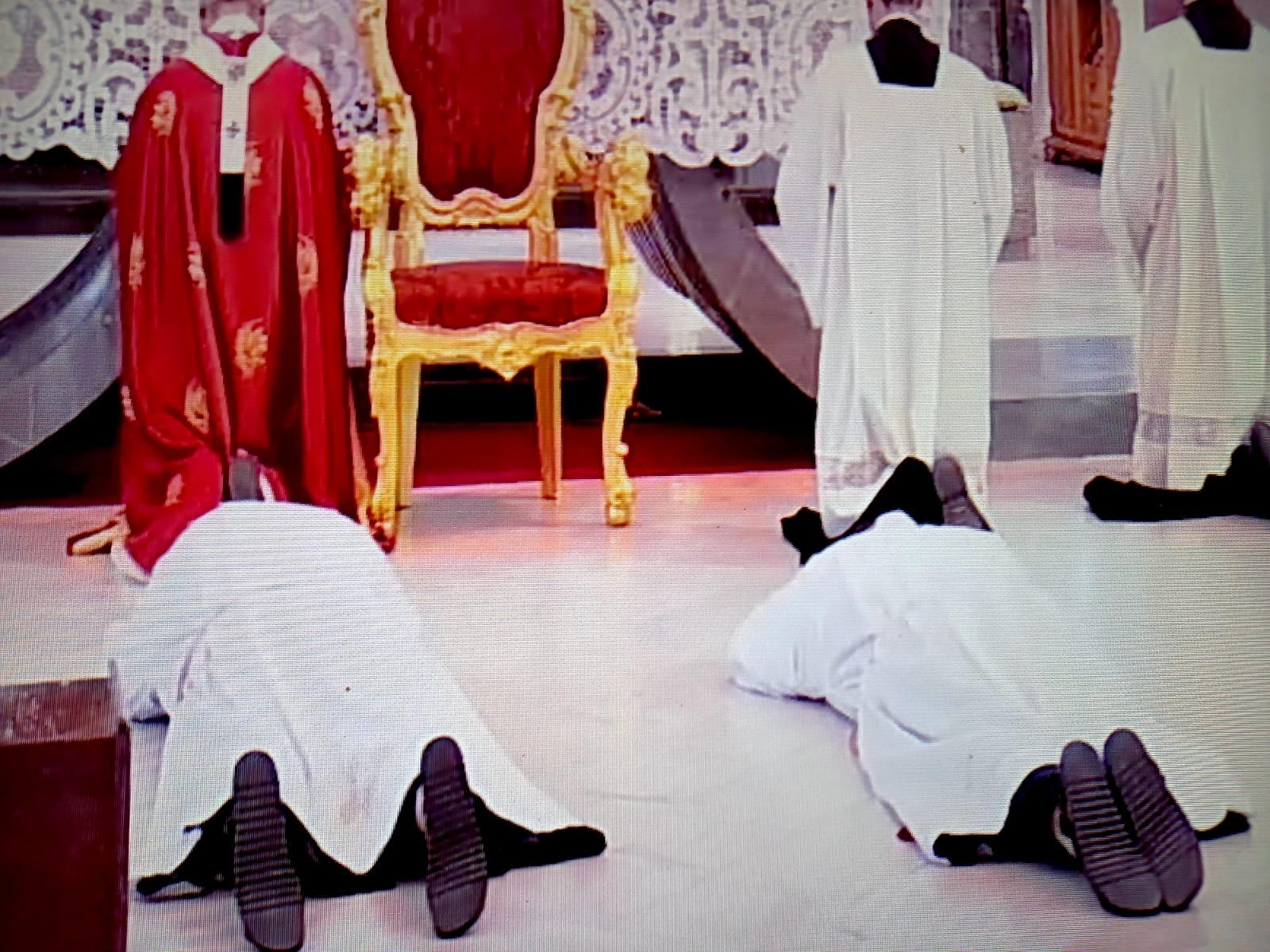 Sannio. Fra Francesco Falco e fra Vincenzo Romano sono stati ordinati Diaconi