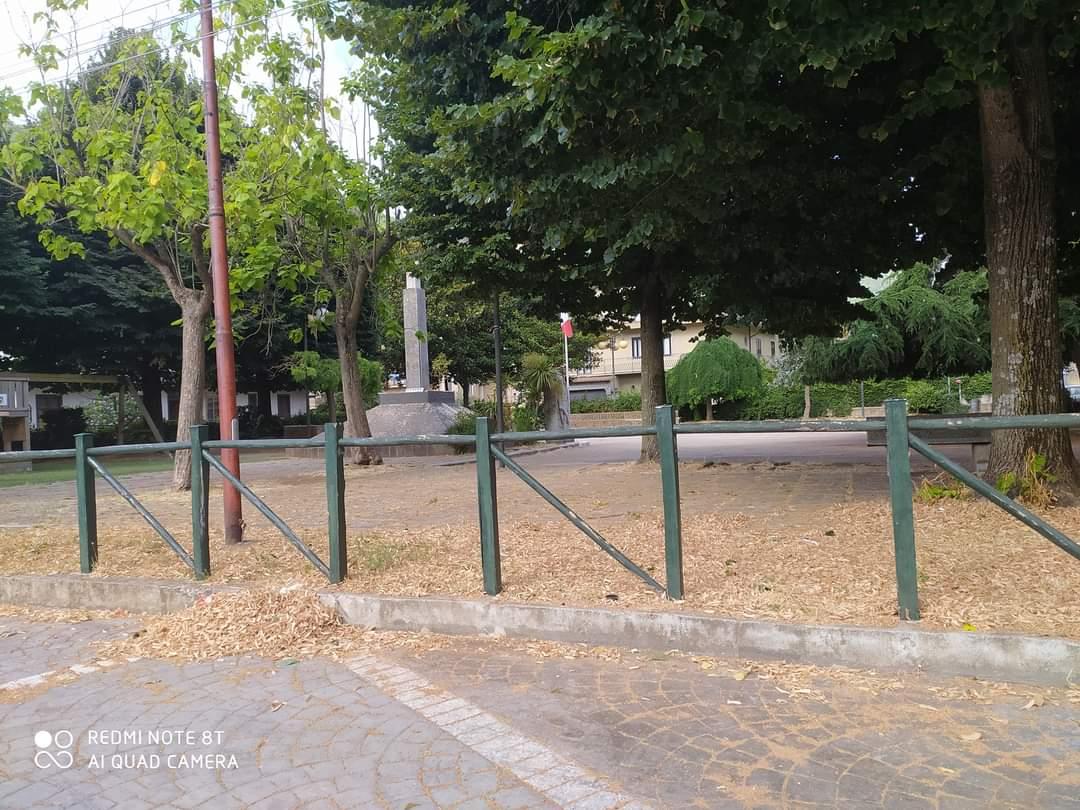 Villa e campetto: riqualificazione anche a Luzzano