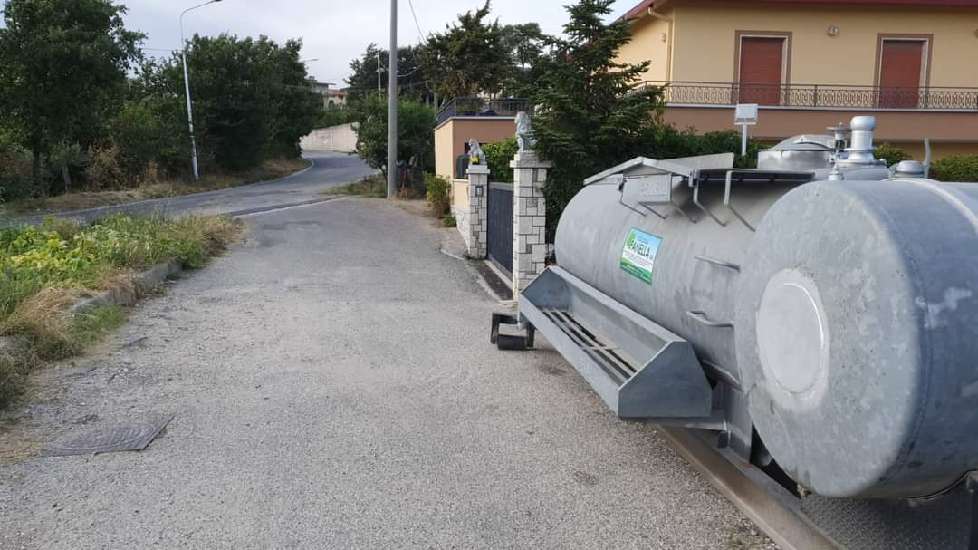 Carenze idriche, altra giornata di passione in Valle Caudina
