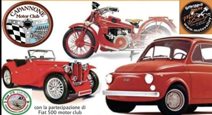Cervinara. Opulentia: il raduno di auto e moto d'epoca e il nuovo motorclub