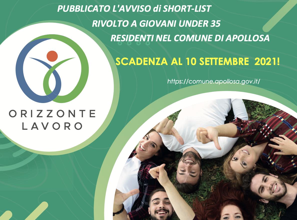 Comune di Apollosa. Orizzonte Lavoro: riaperti i termini per la candidatura.