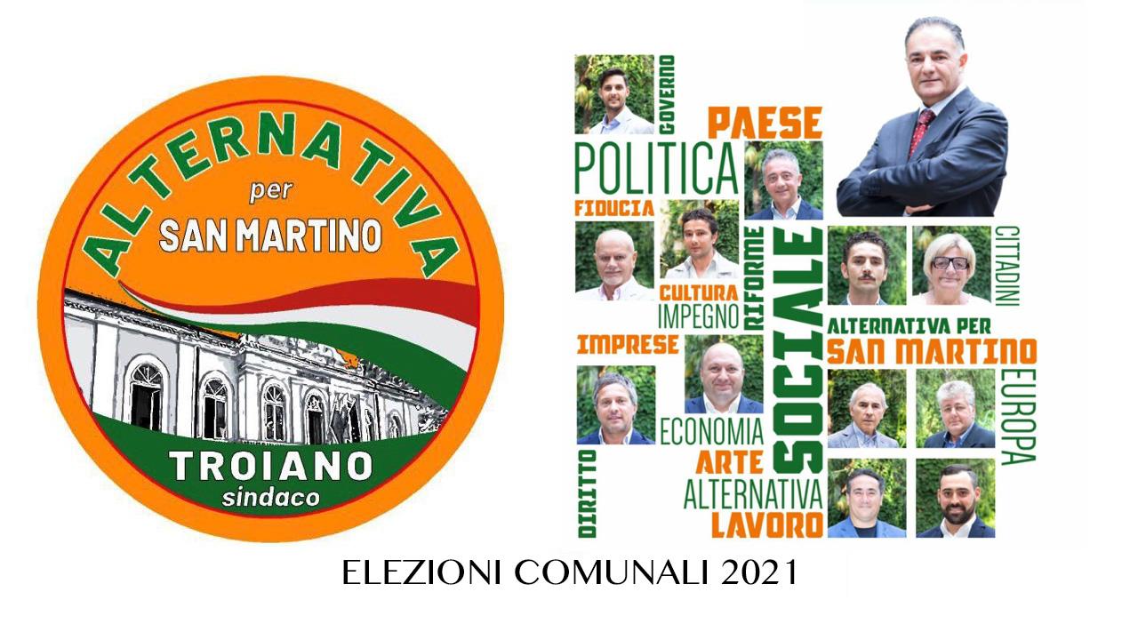 San Martino. Il programma elettorale della lista Alternativa per San Martino.