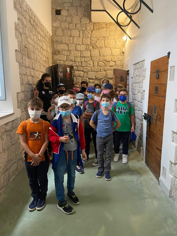 Montesarchio, bimbi di Ponteligno in visita al Museo