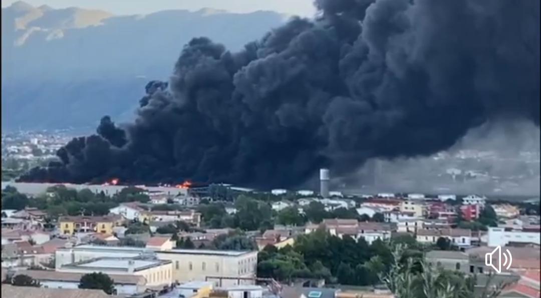 Incendio Sapa, la solidarietà dei sindaci